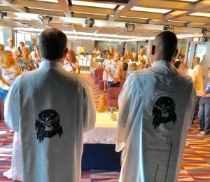 Padres da Comunidade Bethânia participam do 11º Cruzeiro Católico
