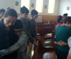 Encontro com as famílias dos Catequizandos