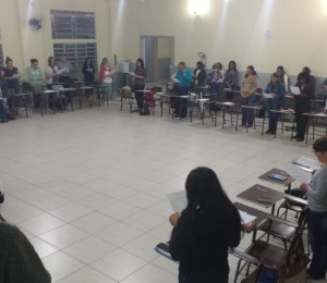 Primeira noite da Assembleia Paroquial de Evangelização e Pastoral